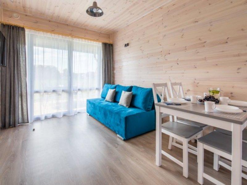 Apartamenty w domkach drewnianych -  Willa Amelia