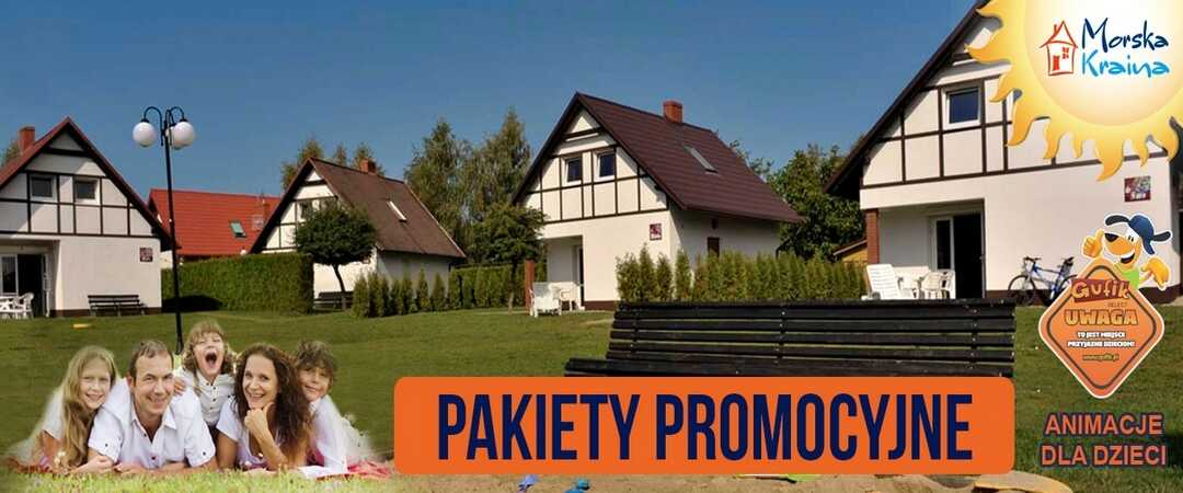 MORSKA KRAINA komfortowe DOMY pokoje WITTENBERG - Białogóra