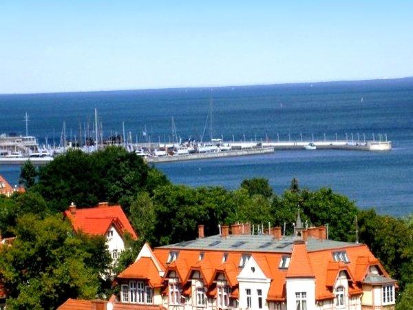 Sopot z widokiem na morze