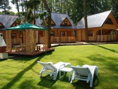 Domki z BALI NawaraPARK - POBIEROWO - zdjęcie główne