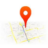 G�ry - mapa